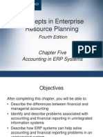 Accounting in ERP system