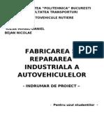 126402237 Fabricarea Si Repararea Industriala a Autovehiculelor