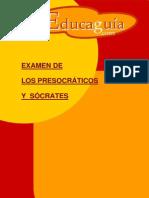 Presocraticos y Socrates