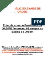 Fraude OAB2