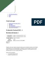 Examen de Diaz Todas Buenas 2013-1
