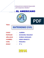 Monografia - Matrimonio Civil