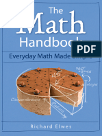 The Math Handbook Everyday Math Made Simple