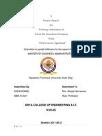 135816026-MBA-Report