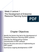 Week 2 Lecture 1 ERP Introduction 2