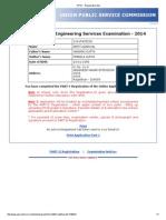 Arpit UPSC - Registration Slip