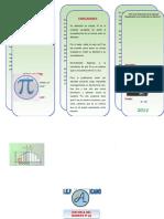 Triptico - Historia Del Numero Pi (Office 2007) Ok