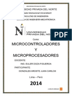 Trabajo de Microcontroladores