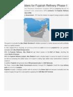IPIC Fujairah Refinery