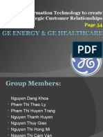 GE Energy & GE Healthcare