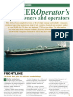 Tanker Operators Review