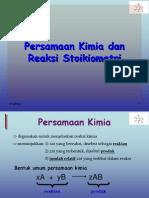 Pers. Kimia Dan Rx Stoikiometri (III)