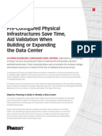 Pre Configured Physical Infrastructure White Paper