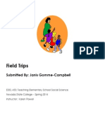 Edel453 Spring2014 Fieldtrips Working Copy-revised-due-date