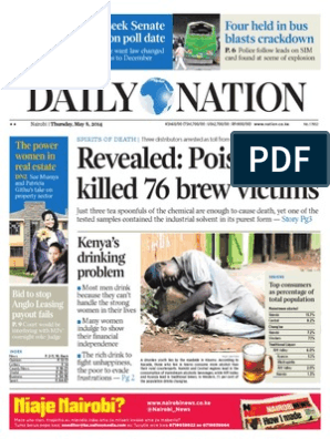 Daily Nation 08 05 2014 | Taxes | Business