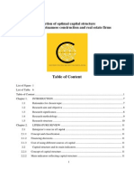 Dissertation_Selection of Optimal Capital Structure