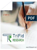 Share Market Technical News by Trifid Research
