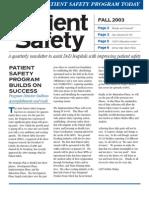PSC Newsletter 2003 Fall
