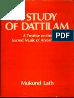 A Study of Dattilam - Mukund Lath