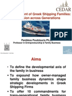 Poutziouris_Development of Greek Shipping Firms Across Generations _ Hellenic Centre April 2014