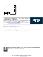 A Comprehensive Conceptualization of Postadoptive Behaviors Associated With Information Technology Enabled Work Systems