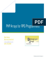 02-PHP Arrays for RPG Programmers