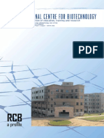 Regional Centre for Biotechnology Brochure