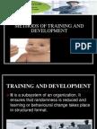methods of training and development.ppt