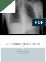 1.19.08 Patel. Acute Rheumatic Fever