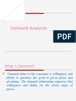 Demand Analysis