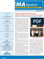 CMA eNewsletter September 2009