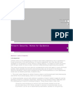 PT Firearms Security Notes for Guidance1