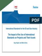 14Mario Dona & G Napier - OGP Presentation Impact of Use of International Stds