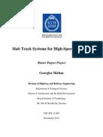 Slab Track Design