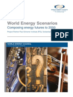 Global Energy Scenarios (Exec Summary)