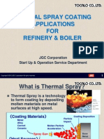 Thermal Spray Coating for Boiler