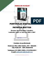 Modelo de Portifólio Digitalizado