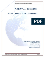 Tata Motors - Analysis