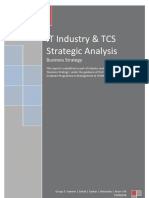 Business Strategy-IT Industry-Tata Consultancy Services