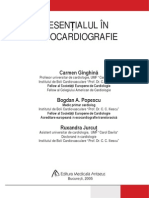 Esentialul in ecocardiografie - Ginghina
