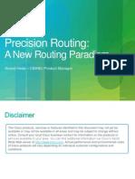 137015-Precision Routing Technical Presentation