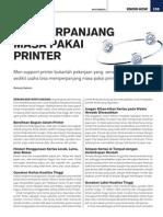 Memperpanjang Masa Pakai Printer