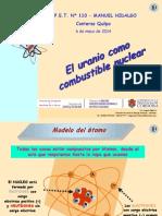 HUGO MARTIN ATOMICA CORDOBA URANIO COMBUSTIBLE NUCLEAR QUILPO
