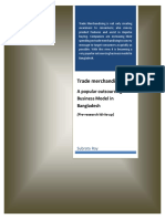 Trade Merchandising-A Popular Outsourcing Business Model in Bangladesh