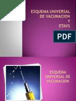 Esquema Universal de Vacunacion Completaaa