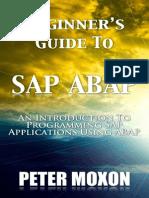 Beginner's Guide to Sap Abap