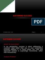 Sustaining Success