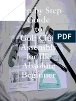 05 Step by Step Guide to Golf Club Assembly for the Absolute Beginner