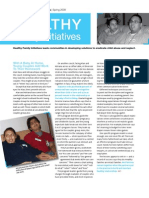 HFI Newsletter Spring 2009