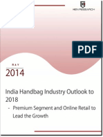 India Handbag Industry, Online Luxury Handbag Industry Outlook to 2018